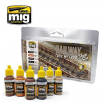 MIG 7471  Railway Fast Method Track Paint Set